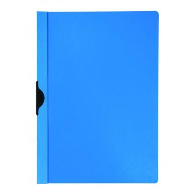 Segtuvėlis su metaliniu klipsu, mėlynas