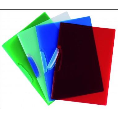 Segtuvėlis su plastikiniu klipsu,raudon