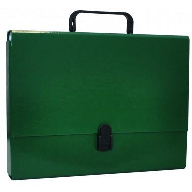 Aplankas su rankenėle A4, 5cm,žalias