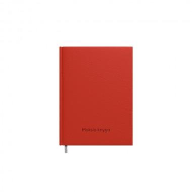 Mokslo knyga 14x19cm, 2417900006 raudona