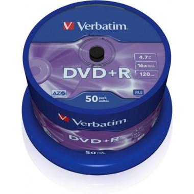 DVD+R 4,7GB 16x 4.7GB 50vnt.
