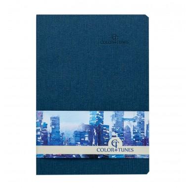 Knygutė COLOR TUNES A5, 96lap.lang.mėlyn