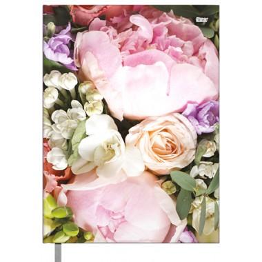 Darbo knyga B6 KANCLER Flowers