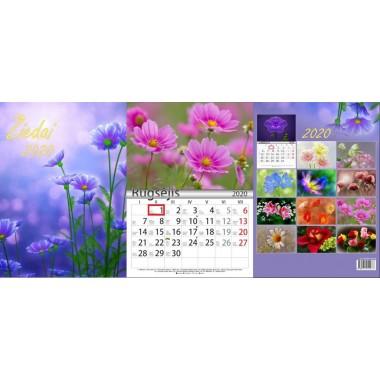 Kalendorius A3 verč.per viršų su sl.lang