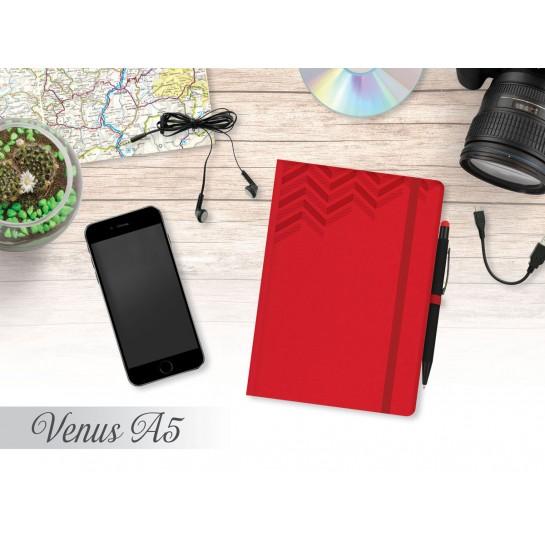 Darbo knyga, B5, 80g,linija, VENUS