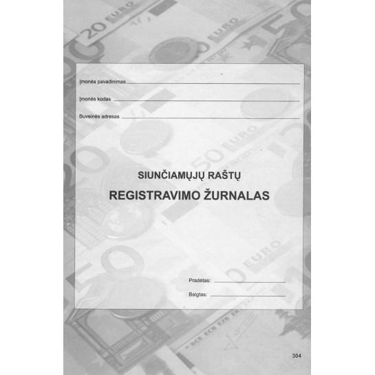 Siunčiamų dokum.registr.žurnalas A4