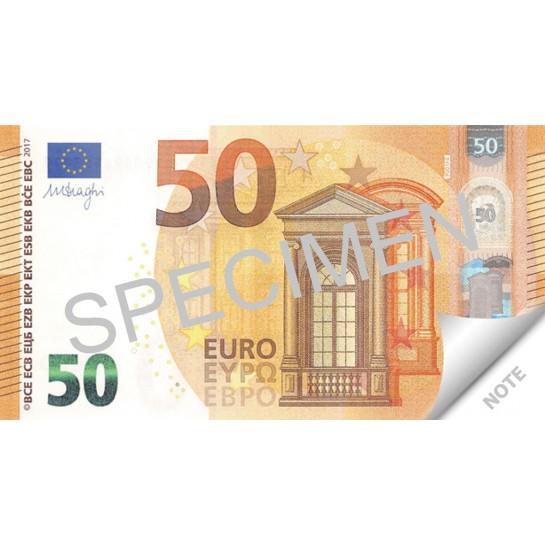 Bloknotas 50 EURO 70lapų
