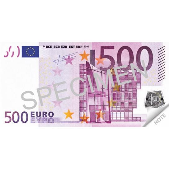 Bloknotas 500 EURO 70lapų