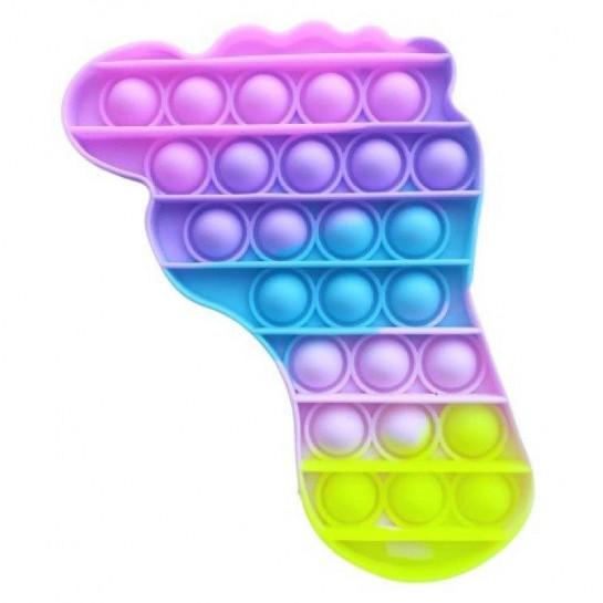 Antistresinis žaislas POP IT Pėdutė